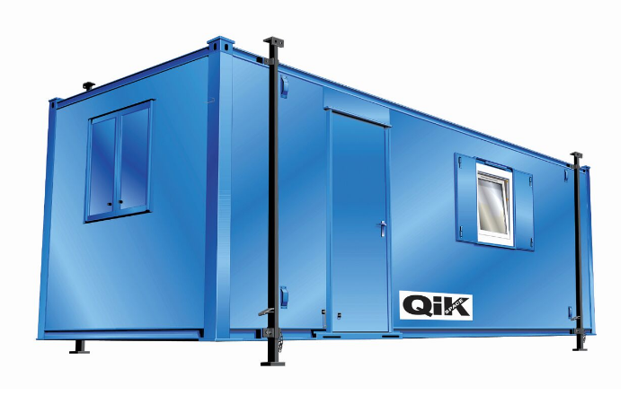 Qik Group portable cabin for site usage