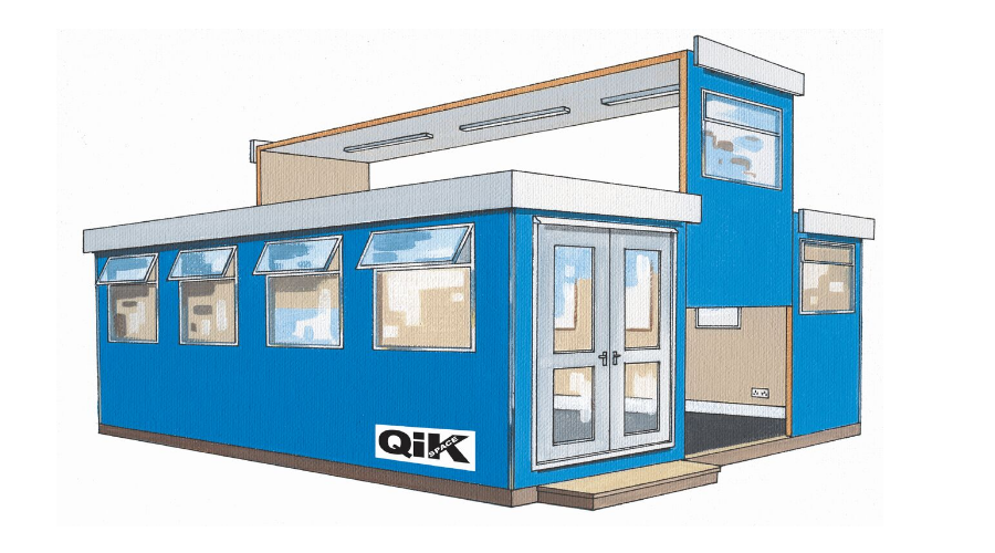 Qik Group cabins for site accommodation