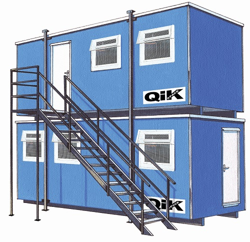 Qik Group site offices and accommodation