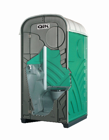 Qik Loo Green Portable Toilet