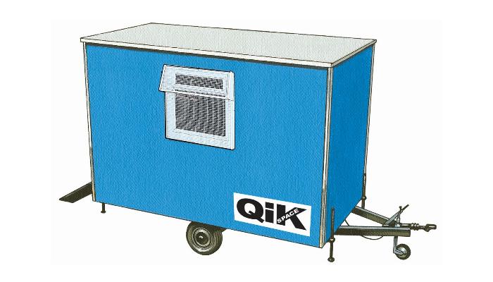 Qik Group wheeled cabins site accommodation
